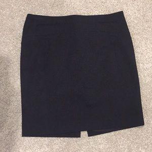 Black Pencil Skirt - Express size 8